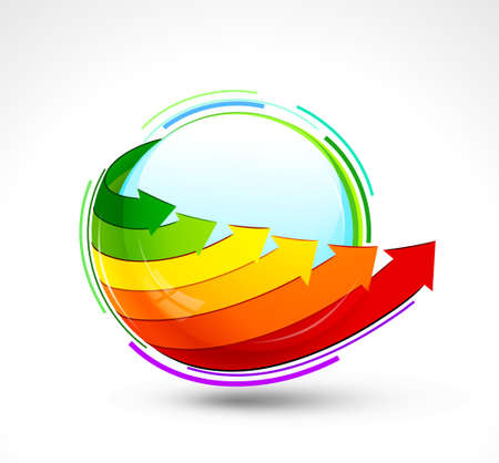 Energy icon. Vector illustration Stock Vector - 13601456