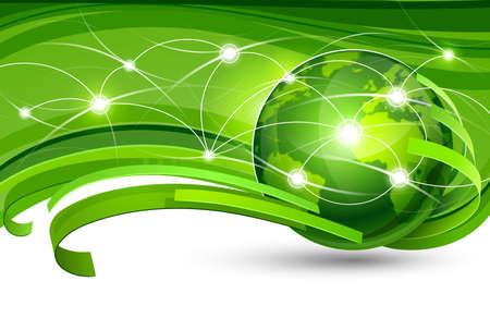conservancy: Green Planet illustration