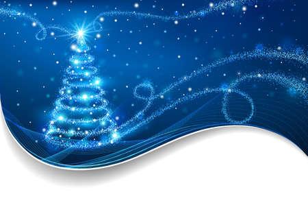 christmas tree:  Christmas background