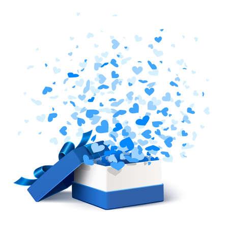 Gift box met harten