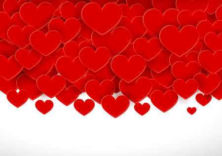 glitter hearts: Hearts