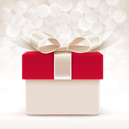 red gift box: Gift box