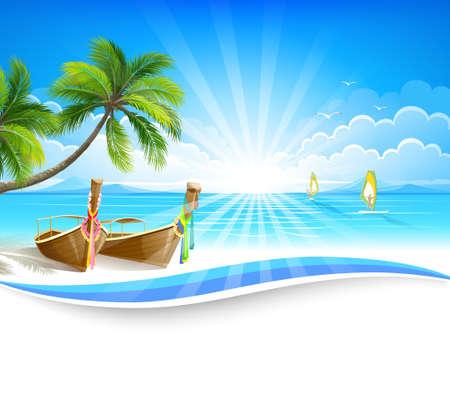 Paradijselijke eiland