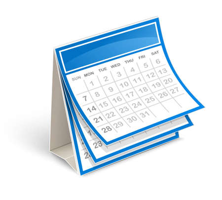 calendar icons: Calendar Illustration
