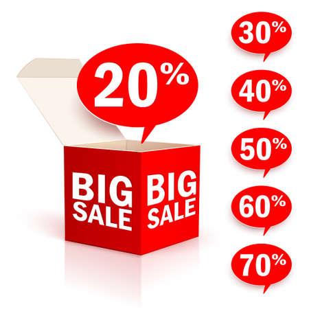 Big box sale