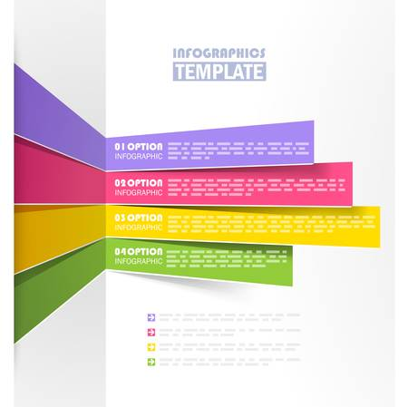 tabs: Creative info graphic template