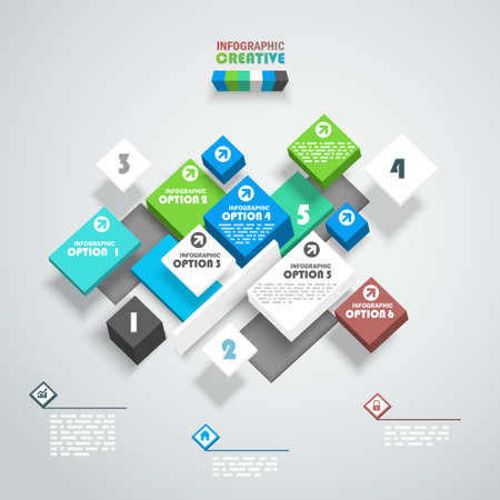 web design: Abstract design template