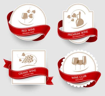vinho: Emblemas de vinho