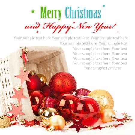 Christmas decoration Stock Photo - 22283766