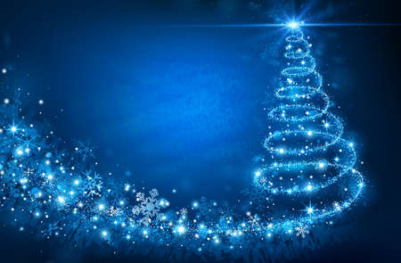 christmas tree: Christmas Tree Illustration