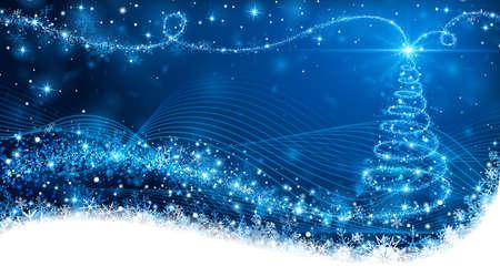 azul: Magic árbol de Navidad
