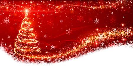 Árbol de Navidad Ilustración de vector