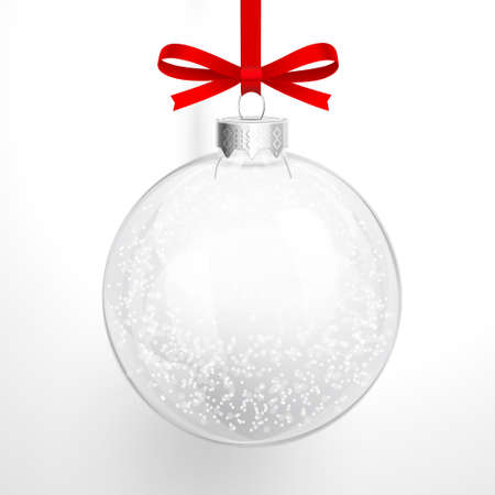 Christmas glass ball Ilustrace
