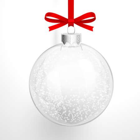 Natale palla di vetro Archivio Fotografico - 24058868