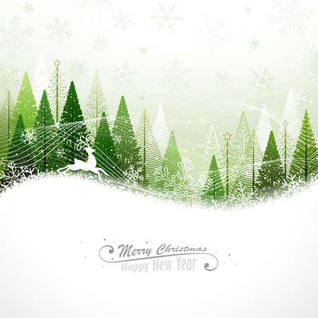 Weihnachten Hintergrund mit Rentieren