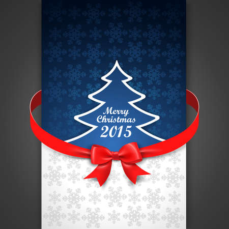 congratulatory: Christmas card with congratulatory text. Holiday menu