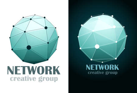 Social network Business design icon.