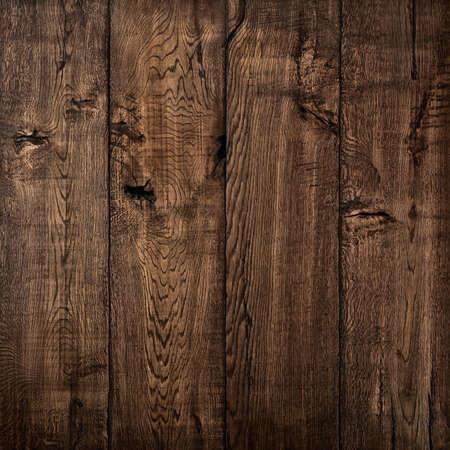 Texture of wood, oak wood dark background Standard-Bild