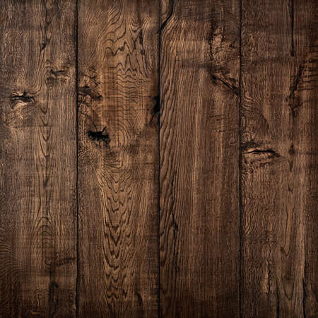 Texture of wood, oak wood dark background Banque d'images