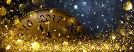 Eva 2017. Ilustración del vector de Año Nuevo Ilustración de vector