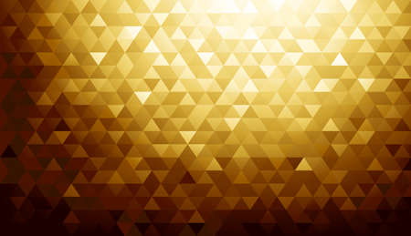 diamond shape: Gold background texture. Vector illustration