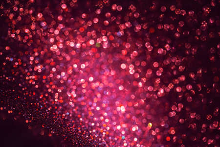 Color christmas glitter background. Bokeh effect texture