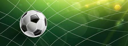 Soccer Goal. Vector