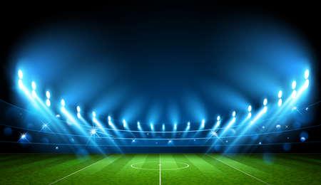 Football Arena vector illustration Illustration