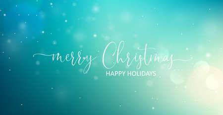 Merry Christmas Greeting Text. Standard-Bild - 112662401