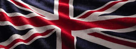 England Flag Wave Close Up for Memorial Day