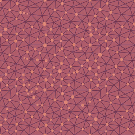 metaphysics: Seamless pattern crystal lattice. Vector illustration. Illustration