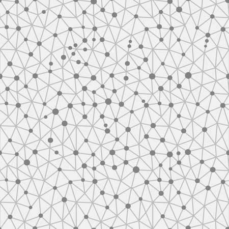 protons: Seamless pattern crystal lattice