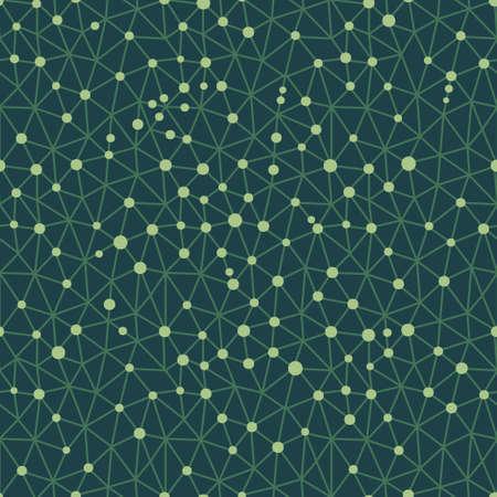 Seamless pattern crystal lattice. Vector illustration. Illustration