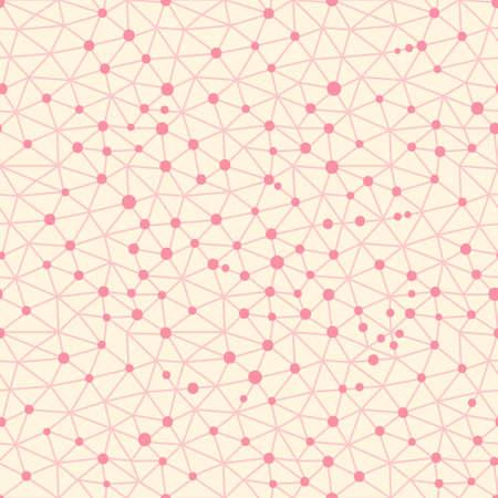 metaphysics: Seamless pattern crystal lattice. Seamless pattern can be used for wallpaper, pattern fills, web page background. Vector illustration.