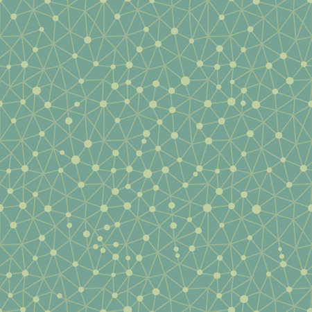 metaphysics: Seamless pattern crystal lattice. Seamless pattern can be used for wallpaper, pattern fills, web page background. Vector illustration.