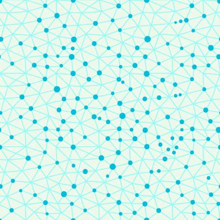 metaphysics: Seamless pattern crystal lattice. Seamless pattern can be used for wallpaper, pattern fills, web page background, surface textures. Vector illustration. Illustration