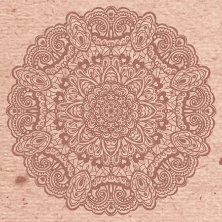 Abstract Flower Mandala. Decorative element for design. Vector illustration. Vector