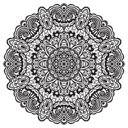 Abstract Flower Mandala