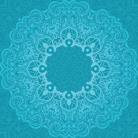 new yea: Extracto de la flor Mandala Elemento decorativo para el dise�o Ilustraci�n vectorial