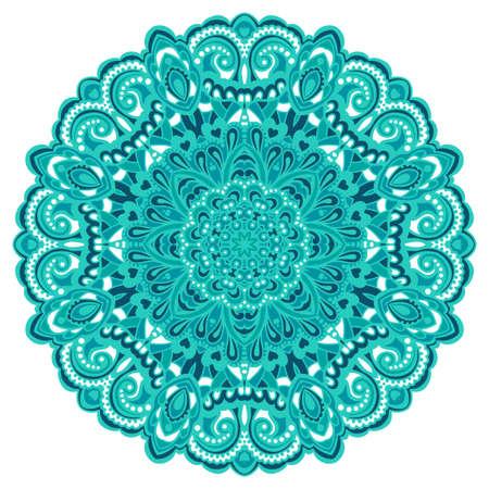 Extracto de la flor Mandala Elemento decorativo para el diseño Ilustración vectorial Foto de archivo - 27946648