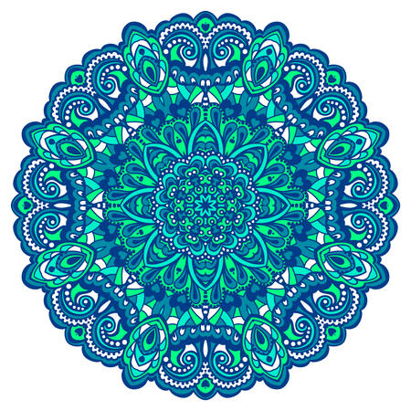 Abstract Flower Mandala. Decorative element for design. Vector illustration. Vector