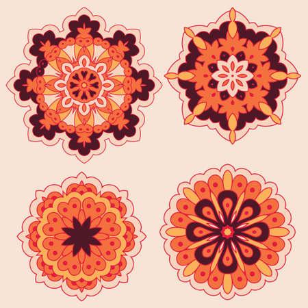Arabesques. Decorative element for design. Vector illustration. Vector