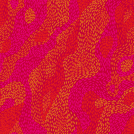 red stripe: Flame  Colorful abstract seamless pattern  Vector illustration