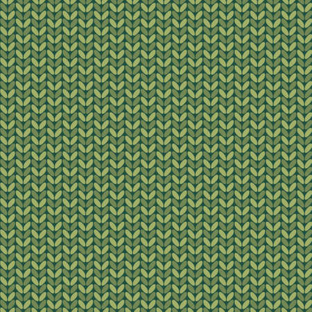 handicrafts: Seamless knitted pattern    Illustration