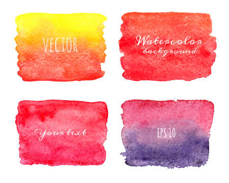 ombre: Wet Watercolor Ombre Backgrounds.