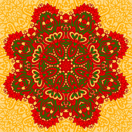 Arabesque. Decorative element for design. Vector illustration. Vector
