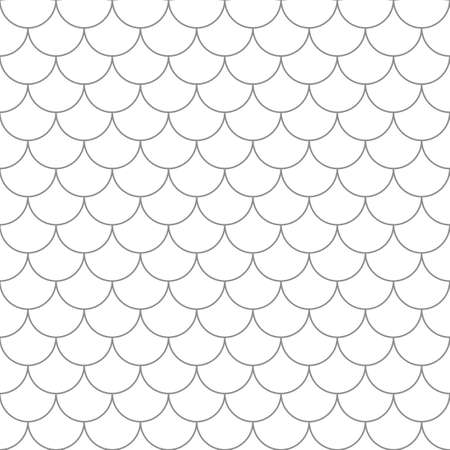 Seamless pattern with fish scales. Simple seamless background in vector.