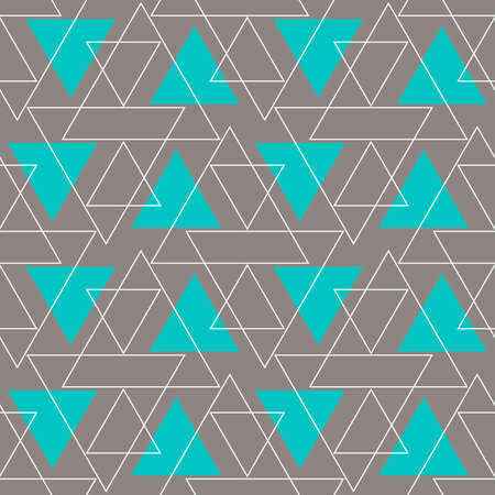Abstract Background Geometric Seamless Pattern. Vector Illustration.