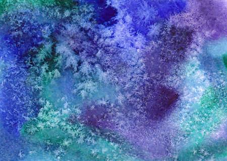 arte abstracto: Vector fondo de la acuarela. Pintura del arte abstracto mano. Ilustraci�n del vector.