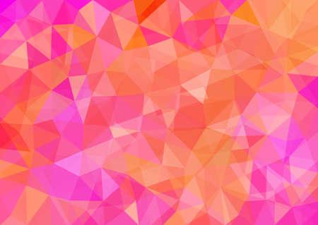 Abstract Polygonal Background. Modern Geometric Vector Illustration.